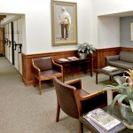 Wood paneling for Sommer Udall law firm
