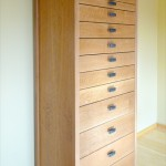 Chest of drawers for homeopathic practitioner