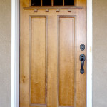 Arts and Crafts door Cherry/Walnut