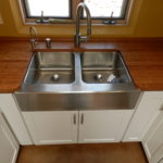 Cherry countertop with hand rubbed poly/oil hybrid finish
